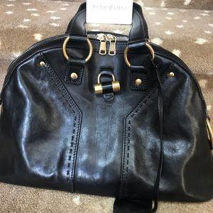 Yves St. Laurent Muse Black Bag